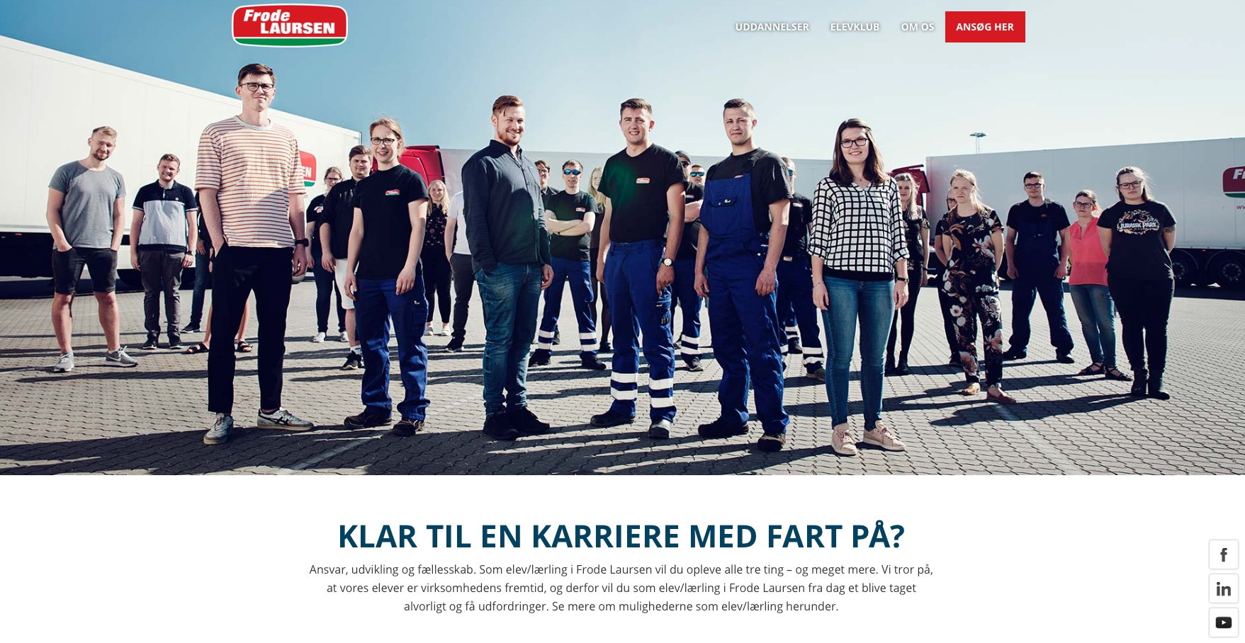 Frode Laursen Elev kampagne